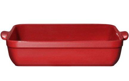 Форма для лазаньи, 35х25 см, гранатФормы для запекания<br>Эта керамическая форма – мечта всех любителей лазаньи. В посуде подходящей прямоугольной формы с высокими стенками и удобными ручками это слоеное итальянское блюдо готовится превосходно. В ней начинка хорошо готовится, а каждый слой теста правильно пропекается и пропитывается соусом. Керамическая форма остывает медленно, поэтому подав в ней лазанью к столу, вы можете рассчитывать на то, что и порция добавки этого блюда будет теплой.<br><br>Серия: Natural Chic