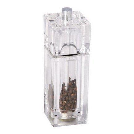 Мельница для перца Cube, 14.5 смМельницы для перца, соли, специй<br>Благодаря ручной мельнице Cube запасы свежемолотых специй будут пополняться по вашему желанию. Поворот мельничного механизма Precision – и изумительный аромат, возбуждающий аппетит, щекочет нос и зовет поскорее к столу. Крупные красивые частички или мелкий легкий порошок специй наполняет блюда новыми оттенками вкуса. Простая и удобная в использовании, надежная и стильная мельница Cube станет вашим источником кулинарного вдохновения.<br><br>Серия: Cube