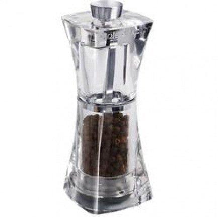 Мельница для перца Crystal, 12.5 смМельницы для перца, соли, специй<br>Благодаря ручной мельнице Crystal запасы свежемолотых специй будут пополняться по вашему желанию. Поворот мельничного механизма Precision - и изумительный аромат, возбуждающий аппетит, щекочет нос и зовет поскорее к столу. Крупные красивые частички или мелкий легкий порошок специй наполняет блюда новыми оттенками вкуса. Простая и удобная в использовании, надежная и стильная мельница Crystal станет вашим источником кулинарного вдохновения.<br><br>Серия: Crystal
