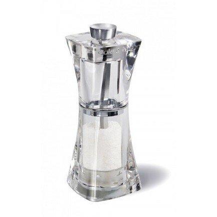 Мельница для соли Crystal, 12.5 смМельницы для перца, соли, специй<br>Благодаря ручной мельнице Crystal вы и ваши гости смогут регулировать размер крупинок соли по своему желанию. С каждым поворотом мельничного механизма Precision кристаллики будут становиться меньше. Индивидуальный помол соли и внимательное отношение к своим вкусовым ощущения станут доброй традицией за вашим столом.<br><br>Серия: Crystal