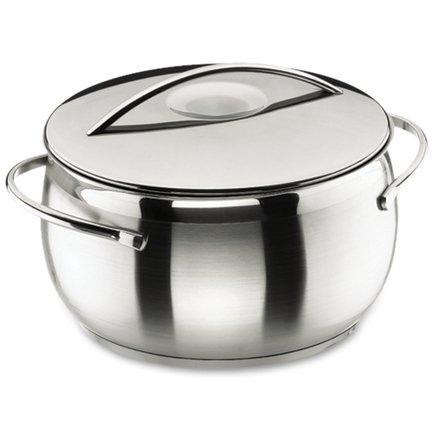 Кастрюля с крышкой Belly, 16 см (1.8 л)Кастрюли<br>В этой компактной кастрюле при необходимости можно сварить небольшую порцию супа, но основное ее предназначение в другом. В ней очень удобно готовить каши и подливки, подогревать готовые блюда и отваривать овощи для приготовления салатов.<br><br>Серия: Belly