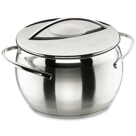 Кастрюля широкая с крышкой Belly, 20 см (4.0 л)Кастрюли<br>Объем этой кастрюли отлично подходит для приготовления различных первых блюд на компанию из 2-4 человек. В ней также можно приготовить гарниры из круп или картофеля. Это одна из самых популярных кастрюль на кухне каждой хозяйки.<br><br>Серия: Belly