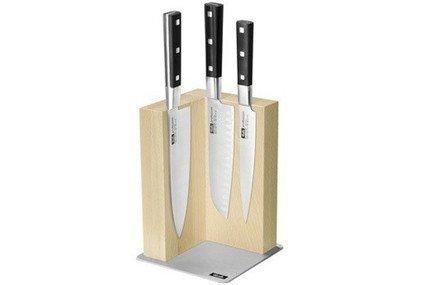 Набор ножей Профешен, 4 пр.Наборы ножей<br>Незаменимый помощник на кухне – набор ножей. Учитывающий индивидуальные потребности повара, профессионально составленный набор обладает неограниченным сроком службы. Отменное качество, удобные рукояти и солидный ассортимент в состоянии удовлетворить самых взыскательных покупателей.<br><br>Серия: Profession