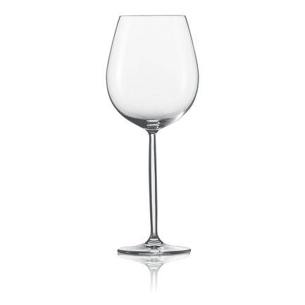 Набор фужеров для красного вина Diva (460 мл), 6 шт.Подарки на новоселье<br>Набор фужеров бокалов для красного вина на удлиненной ножке придает особую элегантность сервировке стола и позволяет насладиться этим напитком. Красному вину нужно подышать, чтобы полностью раскрыть свой вкус и аромат, поэтому его следует подавать в широких бокалах в форме тюльпана. Такие пузатые бокалы нужно наполнять на треть или на четверть.<br><br>Серия: Diva