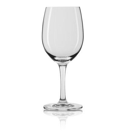Набор бокалов для красного вина Frau (310 мл), 2 шт.Бокалы для красного вина<br>В фужерах в форме нераскрывшегося тюльпана вы сможете ощутить полноценный вкус белого вина. Емкость и форма бокала из этого набора позволяют аккуратно вращать его и наклонять. Наполнив вместительный фужер на треть, вы сможете рассмотреть вино и высвободить его аромат.<br><br>Серия: Frau
