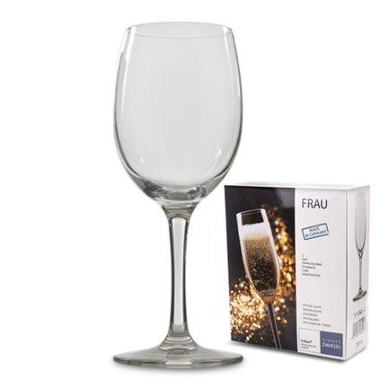 Набор бокалов для вина и воды Frau (220 мл), 2 шт.