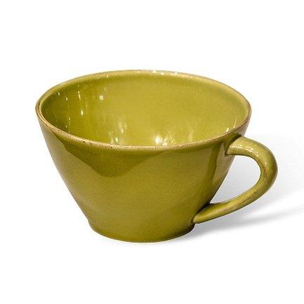 Чашка Lisa, 18 см, зеленаяЧашки и Кружки<br>Этак красивая керамическая кружка - отличная посуда для тех, кто хочет неторопливо насладиться любимым напитком. Керамика позволят почувствовать все ноты чайного букета, поэтому вы сможете в полной мере ощутить аромат свежезаваренного чая. Эта кружка станет любимицей всех членов семьи благодаря удобному дизайну в классическом стиле и уникальным свойствам керамики хранить тепло напитка долгое время.<br><br>Серия: Lisa