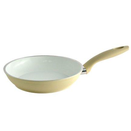 Сковорода для жарки BlackAndWhite Edition, 28 см, белаяСковороды<br>Сковорода с керамическим покрытием универсально подходит и для жарки при высокой температуре и для медленного тушения. Это посуда, в которой вы можете приготовить мясо, рыбу и овощи по своим любимым рецептам. Сковорода снабжена безопасной ручкой удобной формы.<br><br>Серия: BlackAndWhite Edition