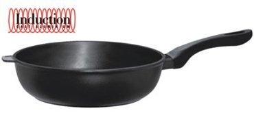 Литая глубокая сковорода Induction, 24 смСковороды<br><br><br>Серия: Risoli Induction