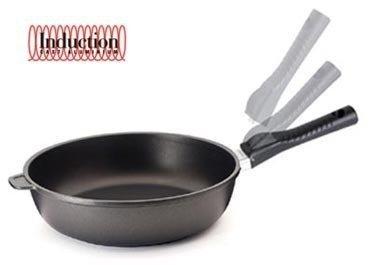 Литая глубокая сковорода Click Induction, 28 смСковороды<br><br><br>Серия: Click Induction