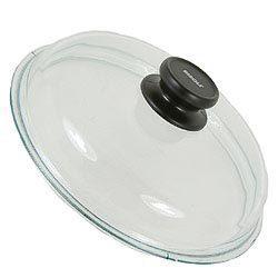 Крышка стеклянная с жаропрочной ручкой и пароотводом, 24 см