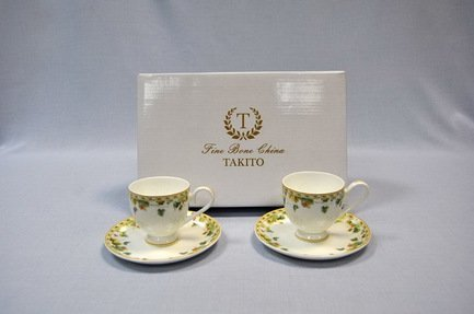 Набор кофейных чашек Изабелла (0.1 л) на 2 персоны, 4 пр.
