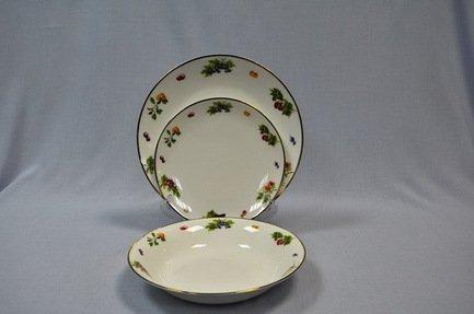 Набор тарелок Конфитюр на 6 персон, 18 пр.