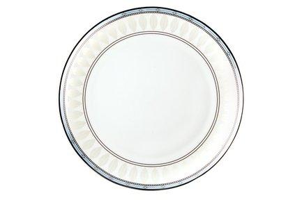 Набор тарелок Британия, 20 см, 6 шт.Тарелки и Блюдца<br>Набор плоских тарелок небольшого диаметра отлично подходит для подачи десертов. На этих красивых тарелках вы можете подать каждому участнику чаепития порцию торта, пирожного или другого десерта, не забыв при этом добавить маленькую вилочку или ложку.<br><br>Серия: Британия
