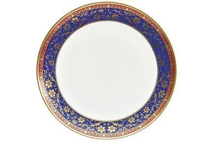 Набор тарелок Кобальт, 25 см, 6 шт.Тарелки и Блюдца<br>Плоские тарелки среднего размера универсальны. Это обеденные тарелки из костяного фарфора, которые незаменимы для подачи гарнира и горячего блюда. Также плоские тарелки можно использовать, как подстановочные для салатников малого диаметра и пиал.<br><br>Серия: Кобальт