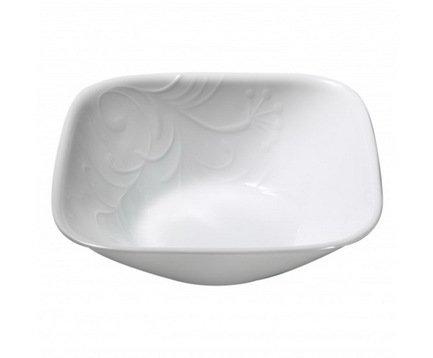 Тарелка суповая Cherish (0.65 л), 15.5x15.5x5.5 см, стекло, белый