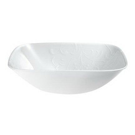 Салатник Cherish (1.4 л), 23x6 см, белый
