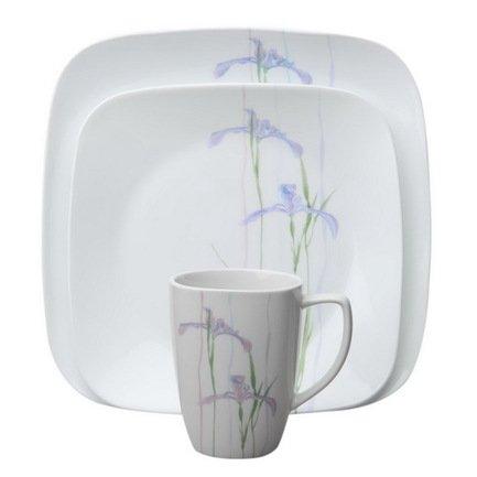 Набор посуды Shadow Iris, 16 пр.Столовые сервизы<br>Красивый набор столовой посуды пригодится в любом доме. Данный обеденный сервиз рассчитан на 4 персоны и отлично подойдет для сервировки ежедневной семейной трапезы или приема нескольких гостей.<br><br>Серия: Shadow Iris<br>Состав: Тарелка обеденная Shadow Iris, 26 см - 4 шт.Тарелка закусочная Shadow Iris, 22 см - 4 шт.Тарелка суповая Shadow Iris (0.65 л) - 4 шт.Кружка Shadow Iris (0.35 л) - 4 шт.