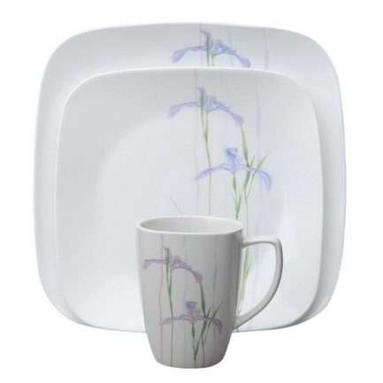 Набор посуды Shadow Iris, 16 пр.