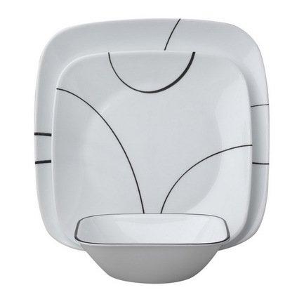 Набор посуды Simple Lines, 18 пр.Столовые сервизы<br>Элегантный набор столовой посуды пригодится в любом доме. Данный обеденный сервиз универсален, поскольку рассчитан на 6 персоны. Он отлично подойдет для сервировки ежедневной семейной трапезы или же приема небольшого количества гостей<br><br>Серия: Simple Lines<br>Состав: Тарелка обеденная Simple Lines, 26 см - 6 шт.Тарелка закусочная Simple Lines, 22 см - 6 шт.Тарелка суповая Simple Lines (0.65 л) - 6 шт.