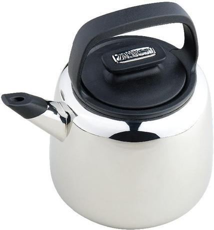 Чайник Sorrento (2.0 л), 16 см, со свистком, черный