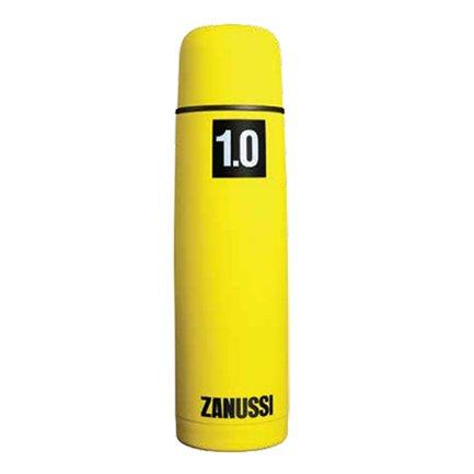 Термос с металлической колбой Cervinia (1.0 л), желтый Zanussi ZVF51221CF