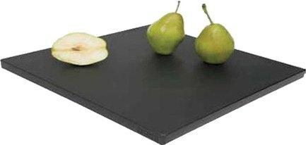 Разделочная доска, 35х35х1.9 см, черная
