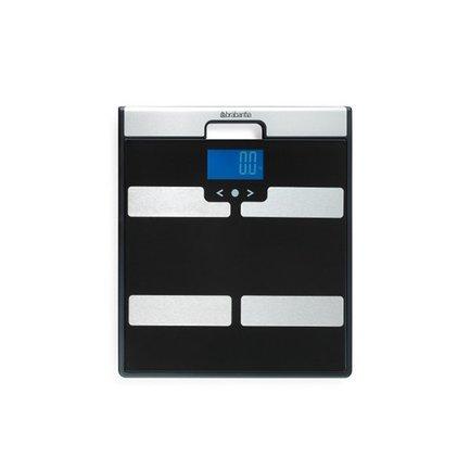 Весы для ванной комнаты с мониторингом веса, 31х35х2.5 см