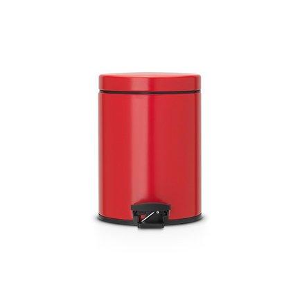 Ведро для мусора с педалью (5 л)Мусорные ведра<br>Этот компактное ведро – отличное приобретение для небольшой кухни или ванной комнат. Он имеет элегантный дизайн и отлично впишется в любой интерьер. Бак бесшумно открывается и закрывается с помощью удобной педали. Имеет удобную ручку для переноски.<br><br>Серия: Pedal Bin