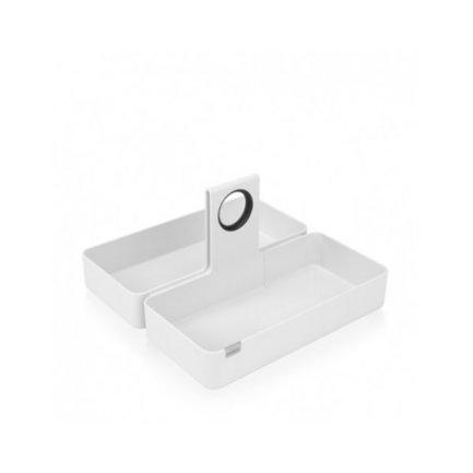 Кухонная подставка-органайзер L, 34.5x34.5 ммКухонные держатели и рейлинги<br>Эту стильную подставку модульной конструкции можно поставить на обеденный стол, рабочую поверхность или же в кухонный ящик. В ней особенно удобно хранить всевозможные продукты в упаковках (каши, муку, какао). Изготовлена из прочных материалов, легко моется и чистится.<br>