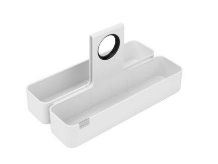 Кухонная подставка-органайзер S, 34.5x23 смКухонные держатели и рейлинги<br>Эту стильную подставку модульной конструкции можно поставить на обеденный стол, рабочую поверхность или же в кухонный ящик. В ней особенно удобно хранить всевозможные продукты в упаковках (каши, муку, какао). Изготовлена из прочных материалов, легко моется и чистится.<br>