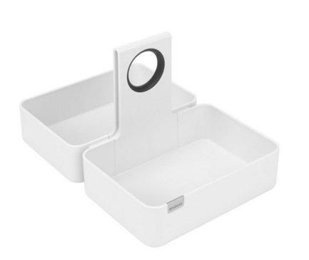 Кухонная подставка-органайзер M, 34.5x18.5 ммКухонные держатели и рейлинги<br>Эту стильную подставку модульной конструкции можно поставить на обеденный стол, рабочую поверхность или же в кухонный ящик. В ней особенно удобно хранить всевозможные продукты в упаковках (каши, муку, какао). Изготовлена из прочных материалов, легко моется и чистится.<br>