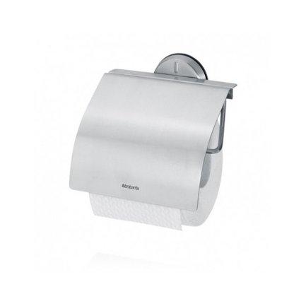 Держатель для туалетной бумаги серии Profile, 14х14.5 смАксессуары для ванной<br>Этот удобный и стильный аксессуар будет хорошо смотреться в любой туалетной комнате. Держатель просто и надежно крепится к стене с помощью пластиковой пластины. Корпус держателя изготовлен из нержавеющей стали высокого качества<br><br>Серия: Profile Line