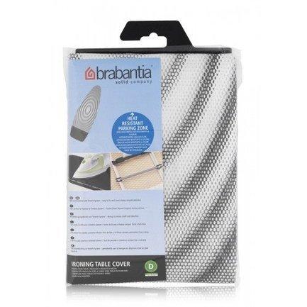Чехол для гладильной доски с термозоной, 135х45 смАксессуары для глажения<br>Чехол выполнен из очень прочного и термостойкого материала. Подкладка: поролон и войлок. Чехол удобно надевается на гладильную доску и надежно фиксируется с помощью эластичного шнурка и резинки, крючками.<br>