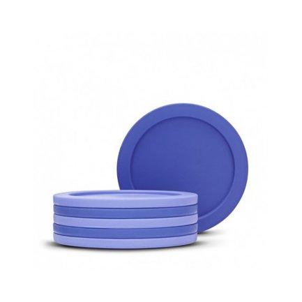 Набор подставок под стаканы, 6 пр.Кухонные принадлежности<br>Эти подставки под стаканы выполнены в лаконичном и современном дизайне. Они выполнены из прочного силикона, который может выдержать температуры более 250С. Набор продается в красивой упаковке и может послужить превосходным подарком на разные случаи жизни.<br>