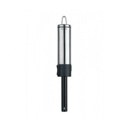 ЗажигалкаКухонные принадлежности<br>С помощью такой газовой зажигалки вы легко зажжете не только конфорку на плите, но и свечу, сигарету и даже бревна для костра. Она эргономична, безопасна и удобна в использовании. Имеет специальную петлю для вертикального хранения.<br>