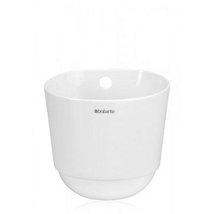 Чашка кухонная, большая, 13.5х13 см, белая