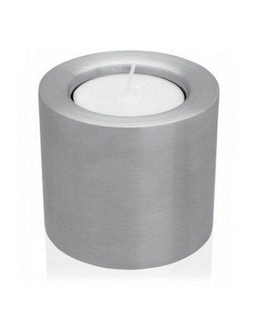 Подсвечник большой, 6.2х5.5 см, матовая сталь Brabantia 611506