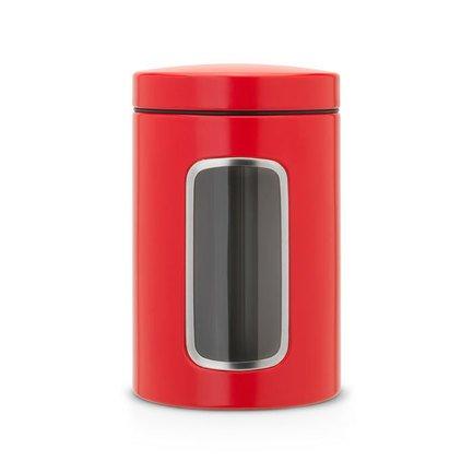 Контейнер для сыпучих продуктов с окном (1.4 л)
