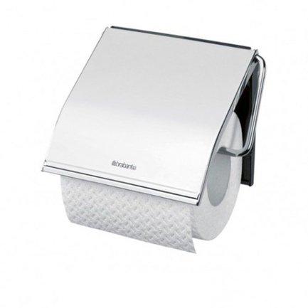 Держатель для туалетной бумагиАксессуары для ванной<br>Этот удобный и стильный аксессуар будет хорошо смотреться в любой туалетной комнате. Держатель просто и надежно крепится к стене с помощью пластиковой пластины. Корпус держателя изготовлен из нержавеющей стали высокого качества<br>