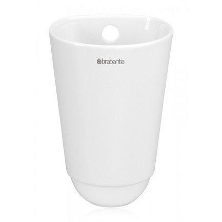 Чашка кухонная, малая, 15х10 см, белая