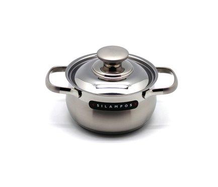 Кастрюля Венеция (1.1 л), 14 смКастрюли<br>Эта небольшая стильная кастрюля отлично подойдет для приготовления супов, каш и прочих гарниров для семьи из 2-3 человек. Она изготовлена из качественной стали, поэтому отличается особой прочностью и долговечностью.<br><br>Серия: Венеция