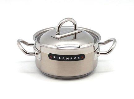 Кастрюля Наутилус (1.1 л), 14 смКастрюли<br>Эта небольшая стильная кастрюля отлично подойдет для приготовления супов, каш и прочих гарниров для семьи из 2-3 человек. Она изготовлена из качественной стали, поэтому отличается особой прочностью и долговечностью.<br><br>Серия: Наутилус