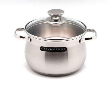 Глубокая кастрюля Роял (2.3 л), 16 смКастрюли<br>Эта стильная глубокая кастрюля – идеальная утварь для приготовления различных гарниров и супов на небольшое количество порции. Она изготовлена из качественной стали, поэтому отличается особой прочностью и долговечностью.<br><br>Серия: Роял