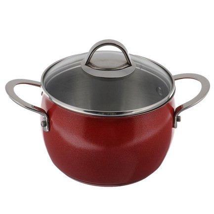 Глубокая кастрюля Океан Рэд (3.3 л), 18 смКастрюли<br>Глубокая кастрюля – незаменимый помощник в приготовлении различных блюд из крупы, варки супов и бульонов, тушения овощей. Она изготовлена из качественной стали, поэтому отличается особой прочностью и долговечностью.<br><br>Серия: Океан Рэд