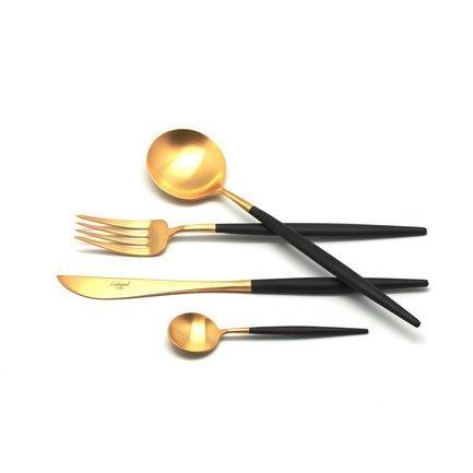 Набор столовых приборов Goa Gold, матовые, 24 пр.