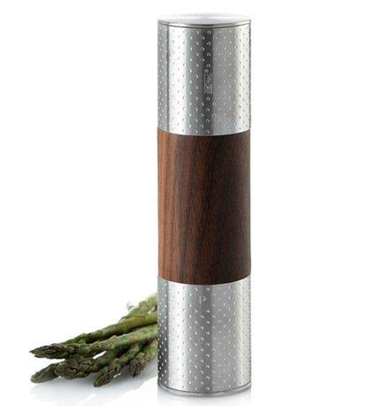 Ручная мельница для соли и перца Dots, двойная, 5х19.6 см