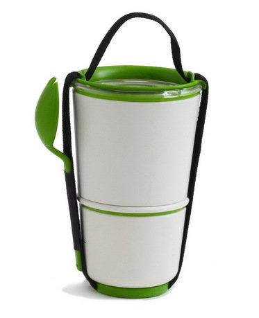 Ланч-бокс Lunch Pot, лайм, 11х19 см