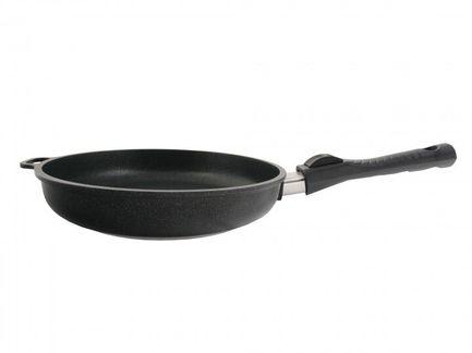 Сковорода литая, 20 см, со съемной ручкой