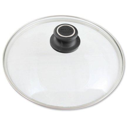 Крышка стеклянная с жаропрочной ручкой, 24 смКрышки<br>Эта крышка станет отличным дополнением к любой кухонной посуды марки BAF соответствующего диаметра. Она изготовлена из жаропрочного стекла и имеет ручку из термостойкого пластика, поэтому ее можно использовать для приготовления блюд в духовом шкафу.<br>